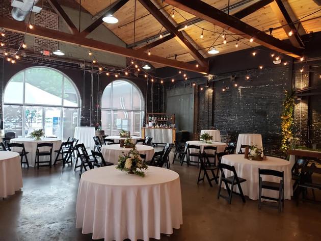 Wedding reception at Jackson Terminal!