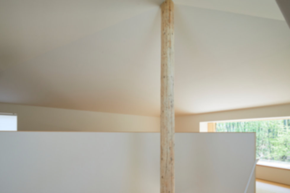 方形屋根の家3