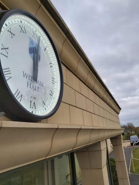 witham hall clock
