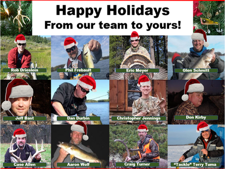 Happy Holidays 2019 from Outdoor News!!