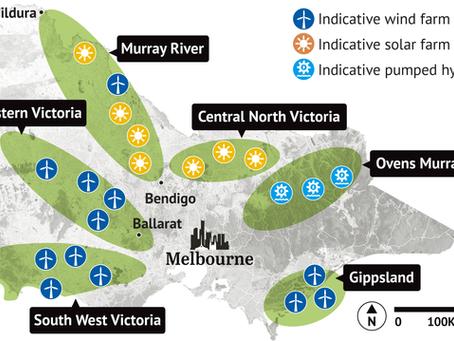 Victoria's 6 Renewable Energy Zones