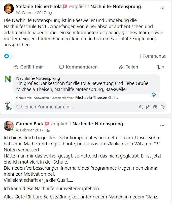 Online Nachhilfe Baesweiler und Alsdorf