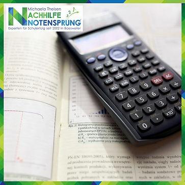Mathematik, Nachhilfe Notensprung, Baesw
