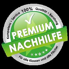 Premium Nachhilfe Notensprung Baesweiler, Qualitätssiegel