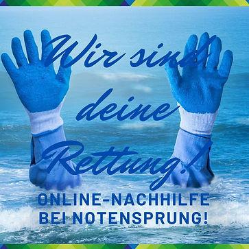 Online-Nachhilfe Rettung Baesweiler Note