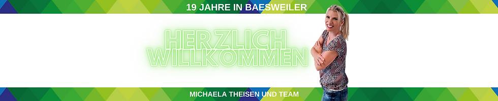Frau Michaela Theisen heißt sie in der Nachhilfeschule in Baesweiler herzlich Willkommen i