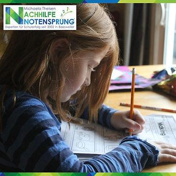 Hausaufgaben Nachhilfe Notensprung Baesw