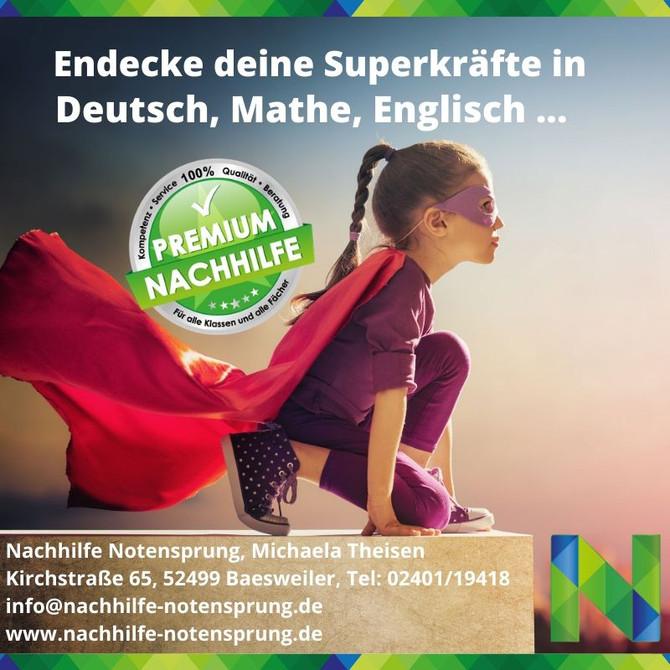 Entdecke mit uns deine Superkräfte