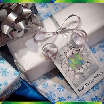 Geschenke, Nachhilfe Notensprung, Baeswe