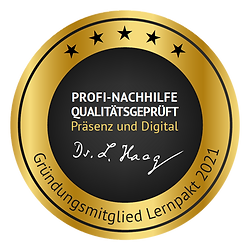 LernPakt 2021 Ludwig Haag Nachhilfe Qualität Zertififizert Corona qualitätsgeprüft