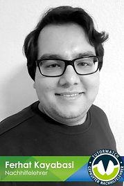 Ferhat Kayabasi geprüfter Nachhilfelehrer bei Nachhilfe Notensprung Baesweiler Französisch, Deutsch, Englisch