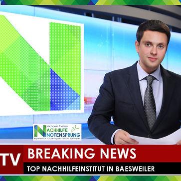 NEWS; Nachhilfe Notensprung; Baesweiler.