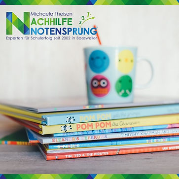 Tasse, Nachhilfe Notensprung, Baesweiler