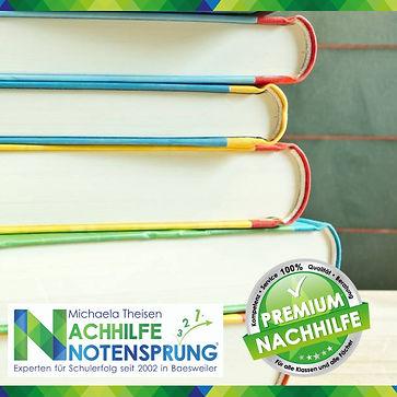 Bücher; Nachhilfe Notensprung; Baesweiler.jpg