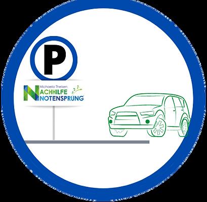 kostenlose parkplätze bzw. parken möglich vor der Nachhilfe notensprung in Baesweiler.png