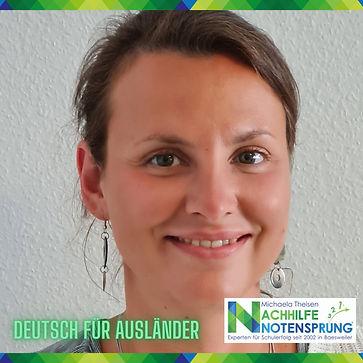 Deutsch für Ausländer, Nachhilfe Notensp