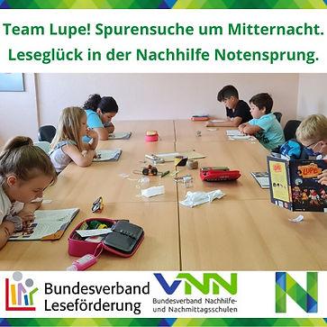 Nachhilfe Notensprung, Michaela Theisen, Schüler Hilfe, Baesweiler, Leseglück, Team Lupe,
