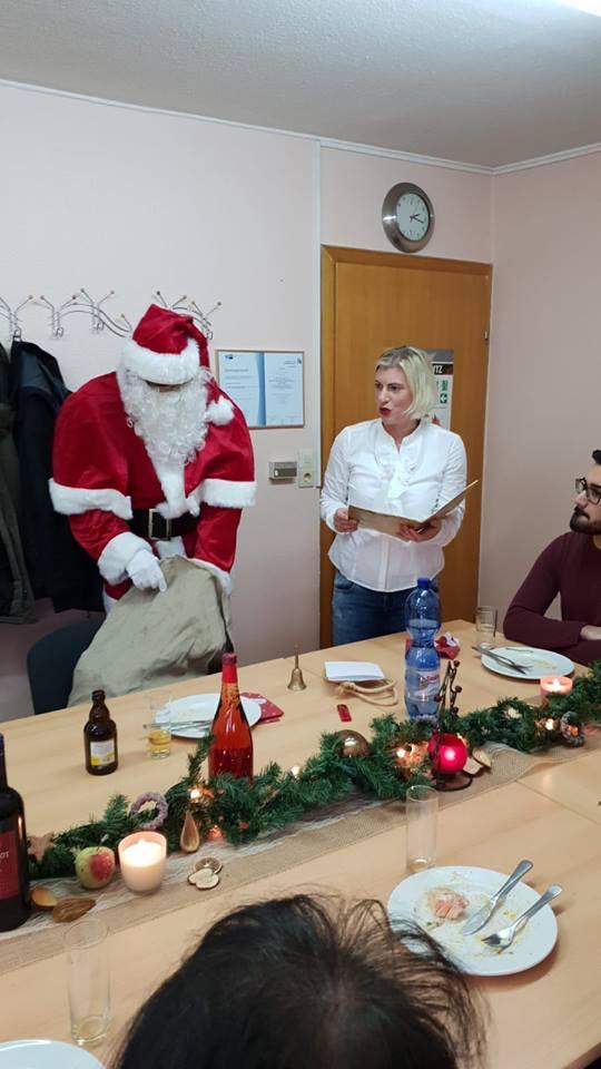 Eine gelungene Weihnachtsfeier
