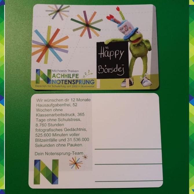 Wie findet ihr unsere neuen Geburtstagskarten?