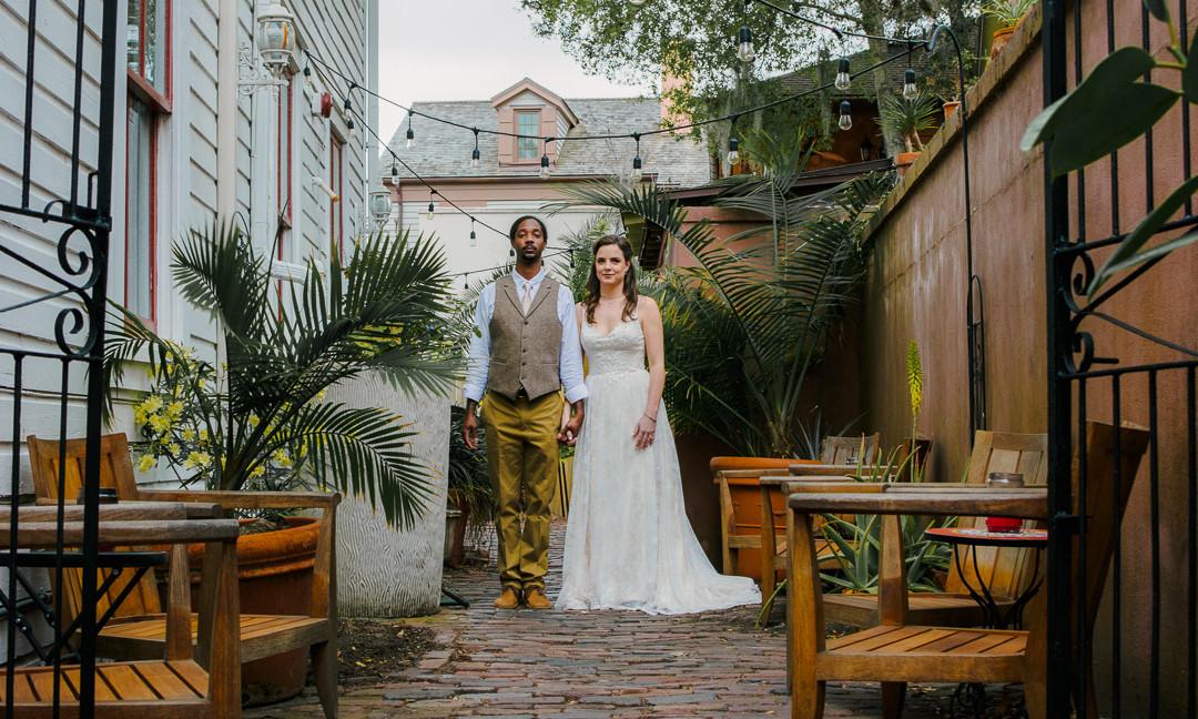 St Augustine Wedding Photo Tyler and Katie