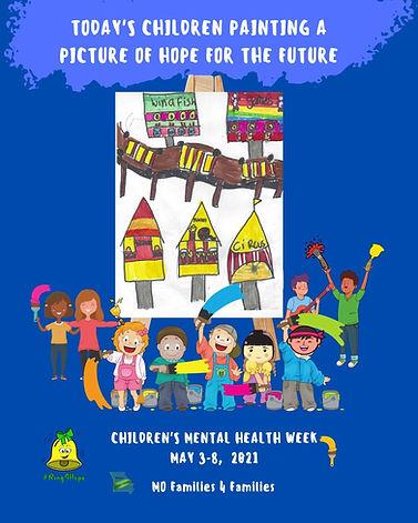 2021 Children's Mental Health Week Poste