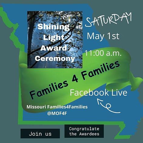 Shining Light Award Ceremony May 1, 2021