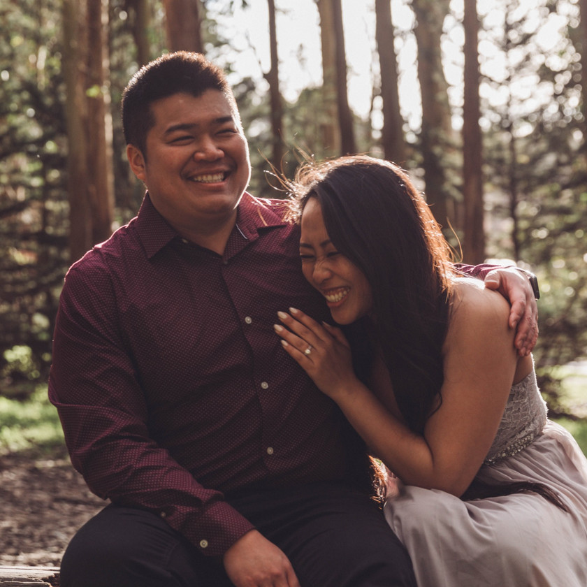 Just the Little Things Photos | Wedding Photography | Engagement Session | San Francisco | California | Bay Area | Lovers Lane