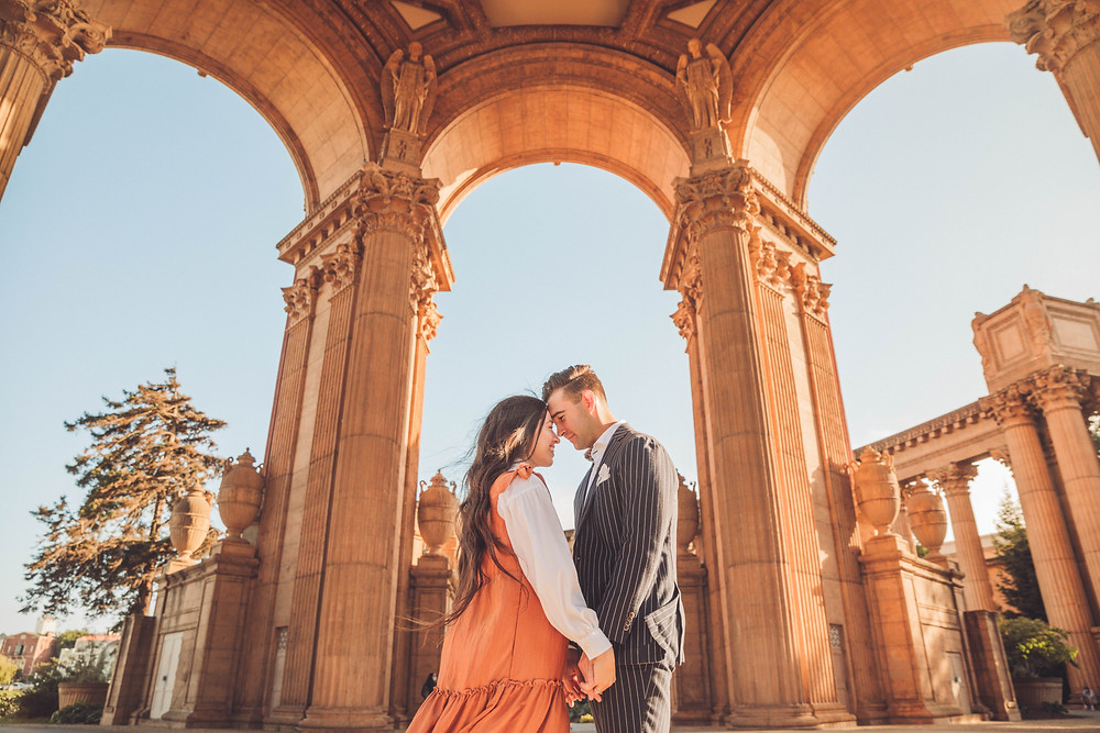 Just the Little Things Photos | San Francisco | Engagement Session | Coit Tower | Palace of Fine Arts | Lover's Lane | Presidio | Photography | Weddings