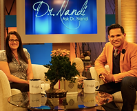 Shelly Appears on the ASK DR. NANDI Show