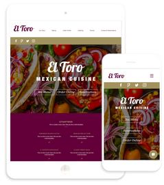 Restaurant - Website Design