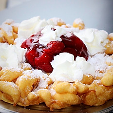 Funnel Cake w/ One Topping