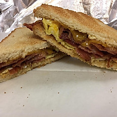 Turkey Bacon, Egg & Cheese