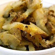 Fried Potaotes & Onions