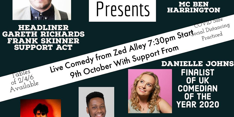 Comedy At Zed Alley
