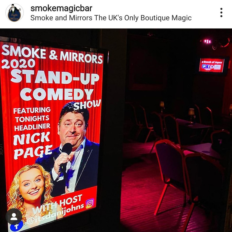 Bunch of Japes Comedy -  Smoke and Mirrors