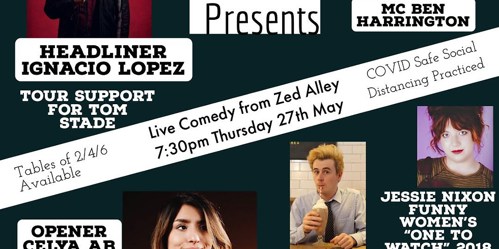 Zed Alley Comedy Night