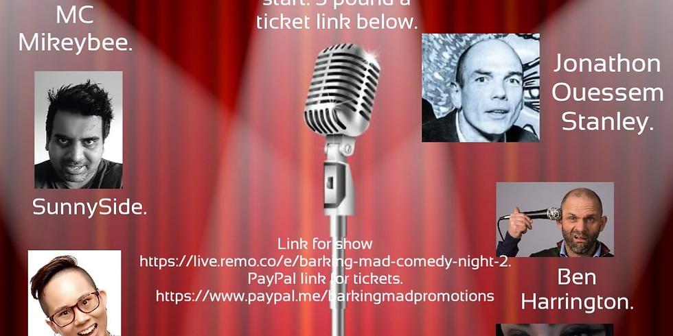 Barking Online Comedy Night