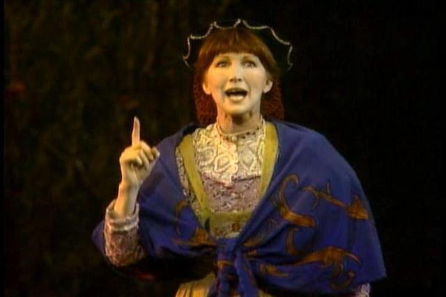 Joanna Gleason as the Baker's Wife