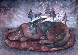 Fafik's winter dream