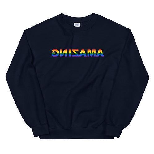 Unisex Crewneck Sweatshirt (AMAZING has Pride)