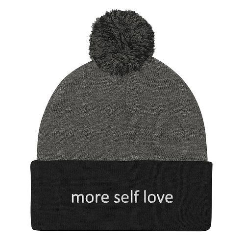 Pom-Pom Beanie (More Self Love)