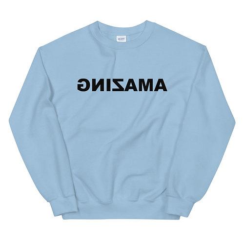Unisex Crewneck Sweatshirt (AMAZING in Black)