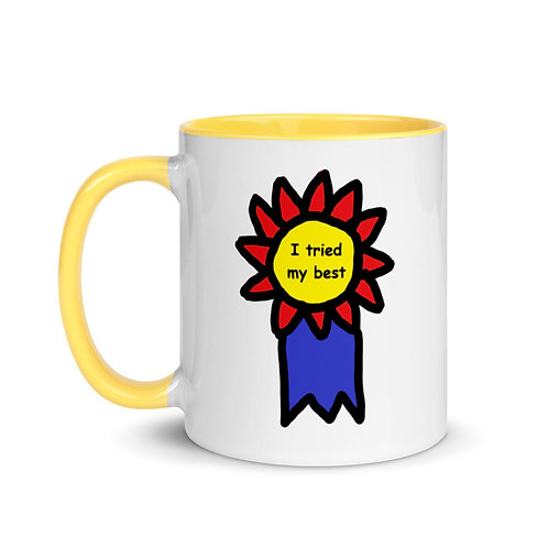 Mug with Color Inside (I Tried My Best Award)