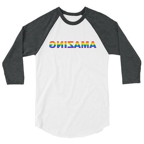 3/4 Sleeve Raglan Shirt (AMAZING has Pride)