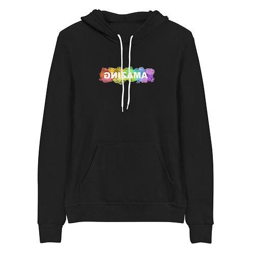 Unisex Hoodie (AMAZING in Rainbow)