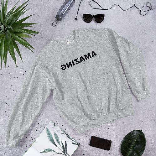 Unisex Crewneck Sweatshirt (AMAZING Black)