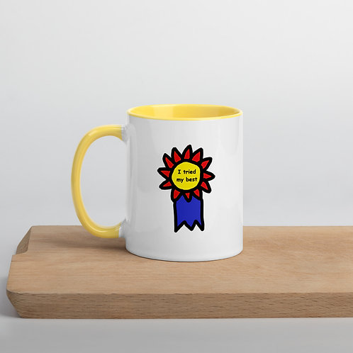 Mug with Color Inside (I Tried My Best)