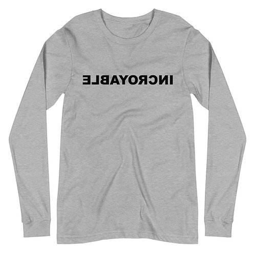 Unisex Long Sleeve Tee (AMAZING in French)