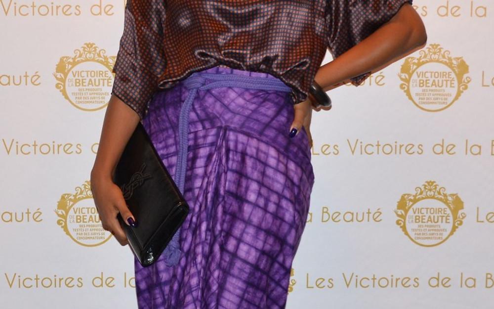 Ceinture Imane Ayissi Pochette Yves Saint Laurent.