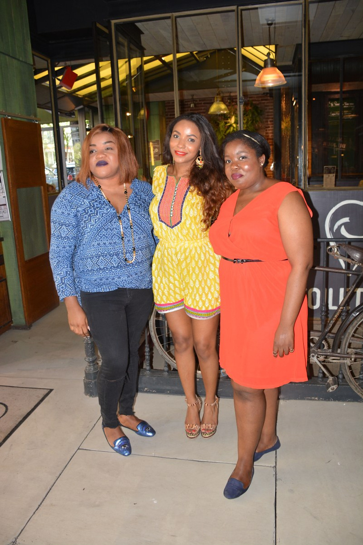 Avec Linda & Natacha